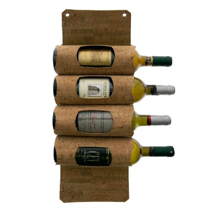 4692 Corky 4 Wine Bottles Hanging Display