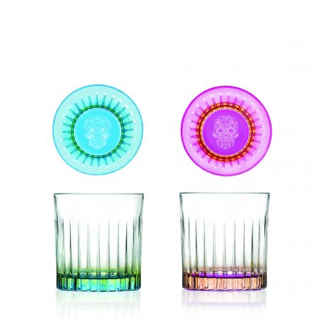 8406 SET OF 6 DOF TUMBLERS - PEDRO & ROSA