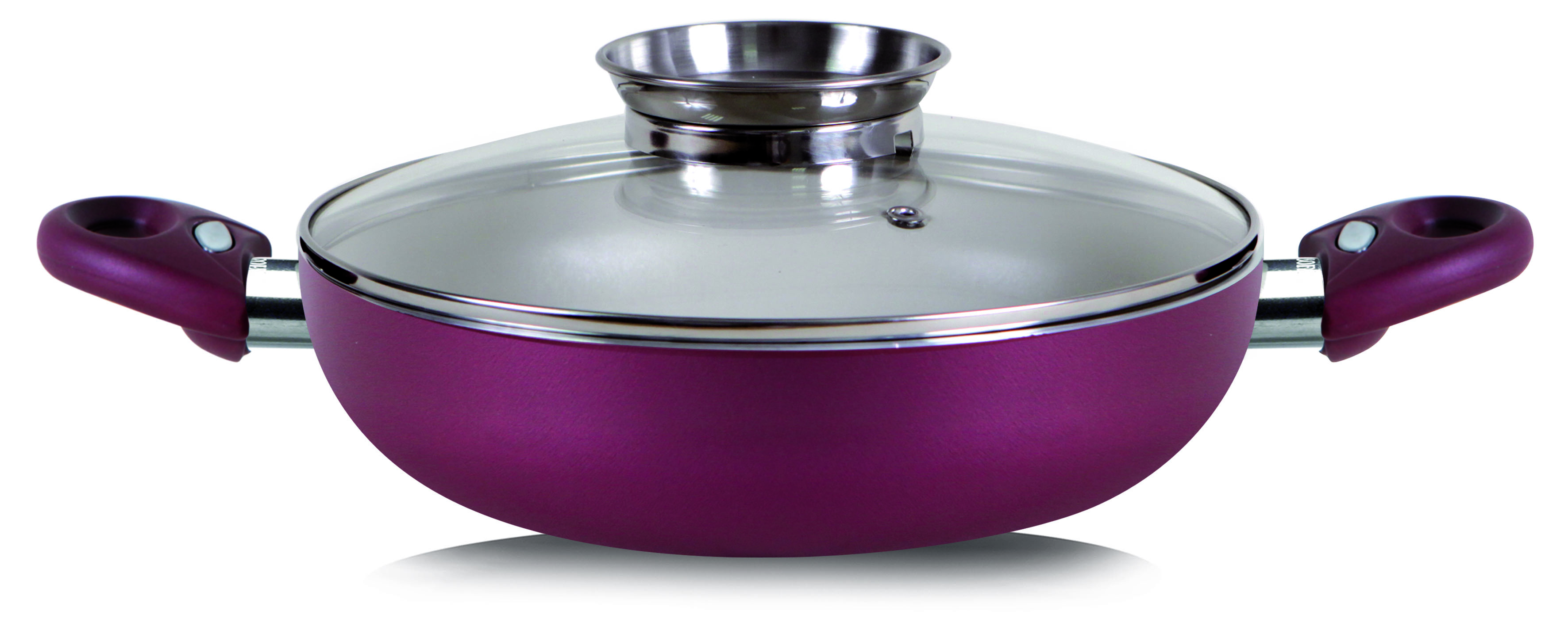 Princess Passion Skillet Round 2 Handle With Aroma Glass Lid