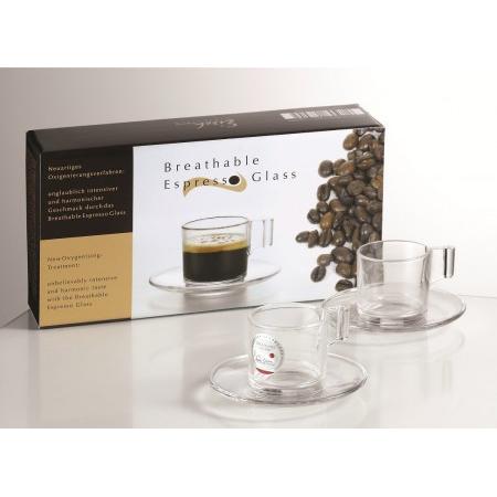 Eisch Sensis Plus Espresso glass set
