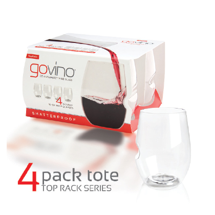 Govino DS 16oz wine glass 4pk