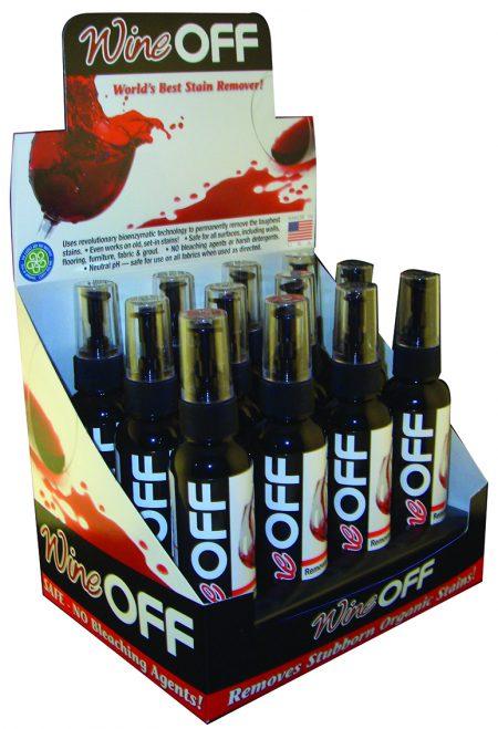 WineOFF 4oz Counter Display