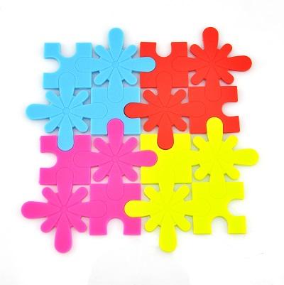 Cuisivin Silicone Puzzle Coasters
