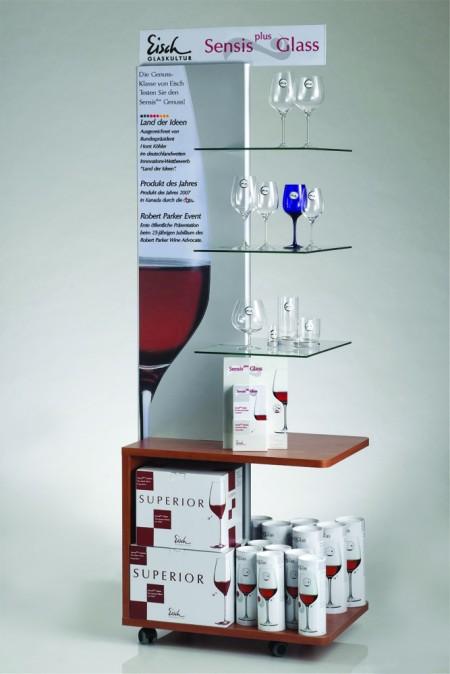 Eisch Floor Display Shelf